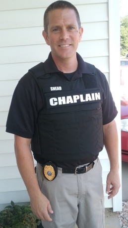 Curt in Chaplain Vest