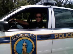 Curt in his PoPo car