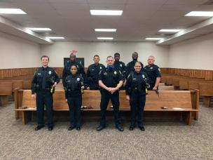 Pic of new officers 09-11-20